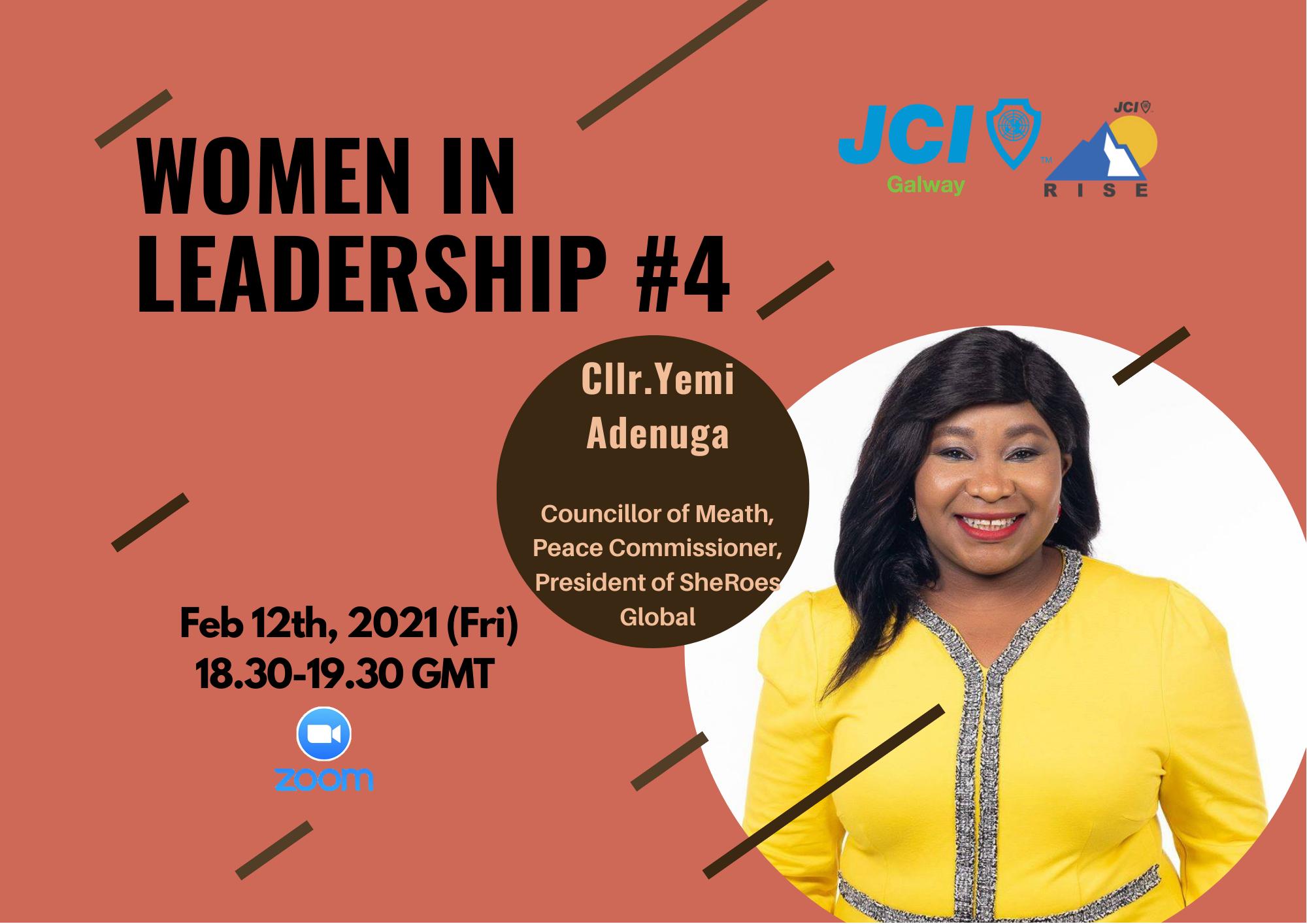 Women in Leadership 4: Presenting Yemi Adenuga