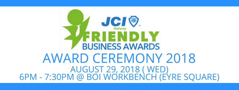 Galway Friendly Business Awards 2018