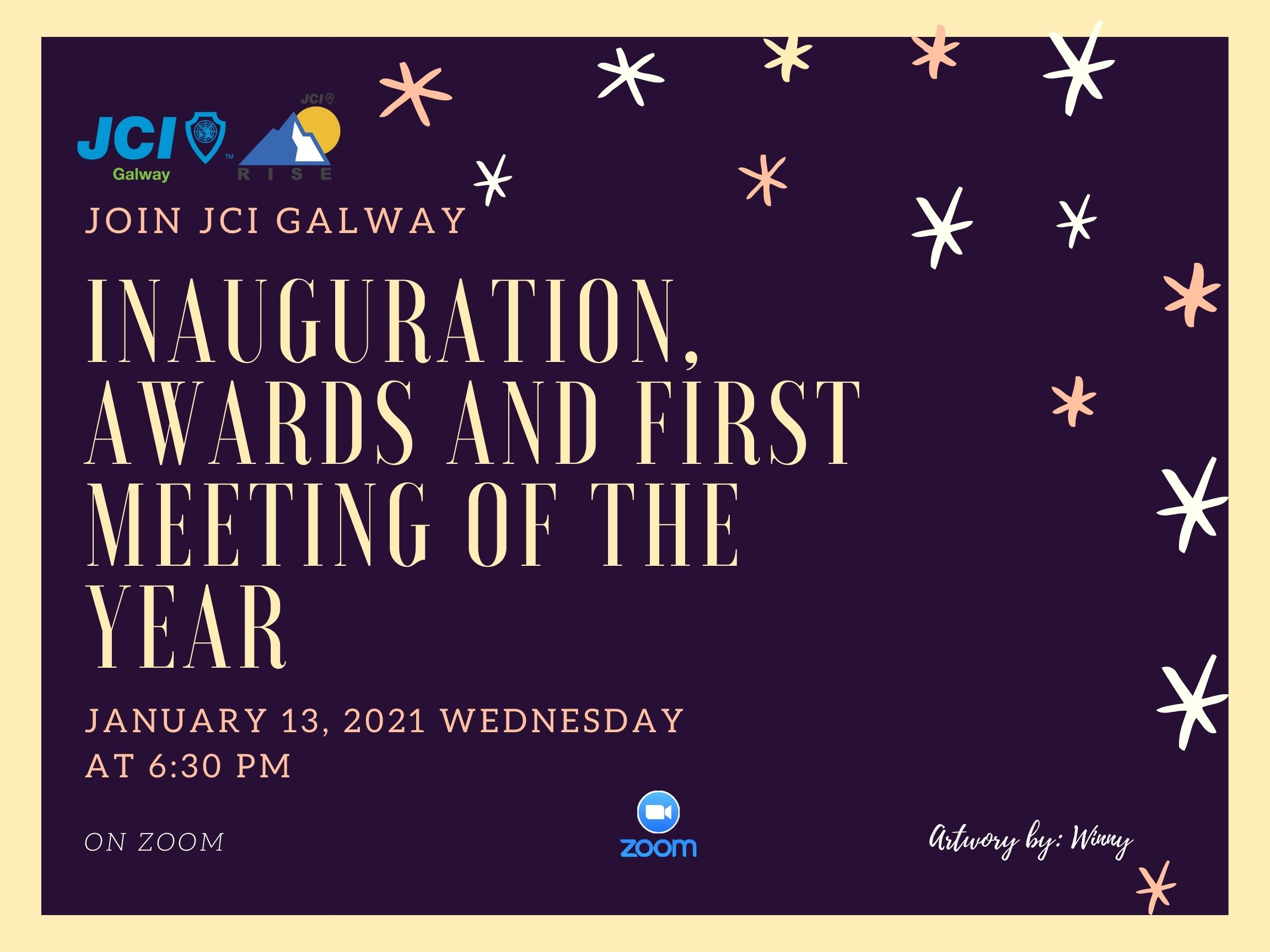 JCI Galway Inauguration, Awards and first meeting of the year