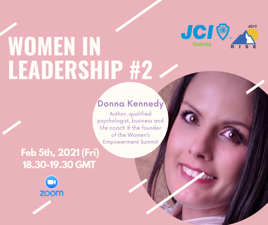 Women in Leadership 2: Presenting Donna Kennedy