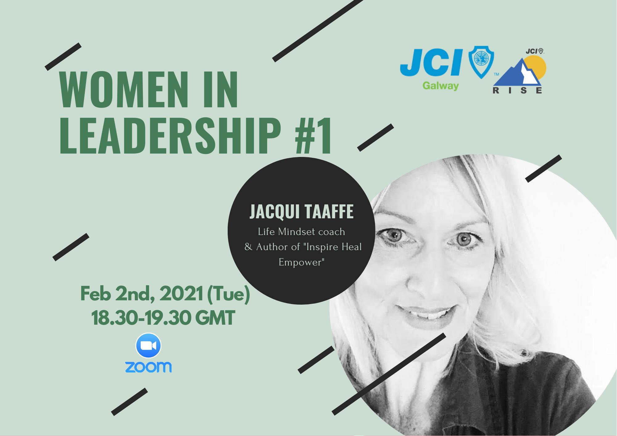 Women in Leadership 1: Presenting Jacqui Taaffe