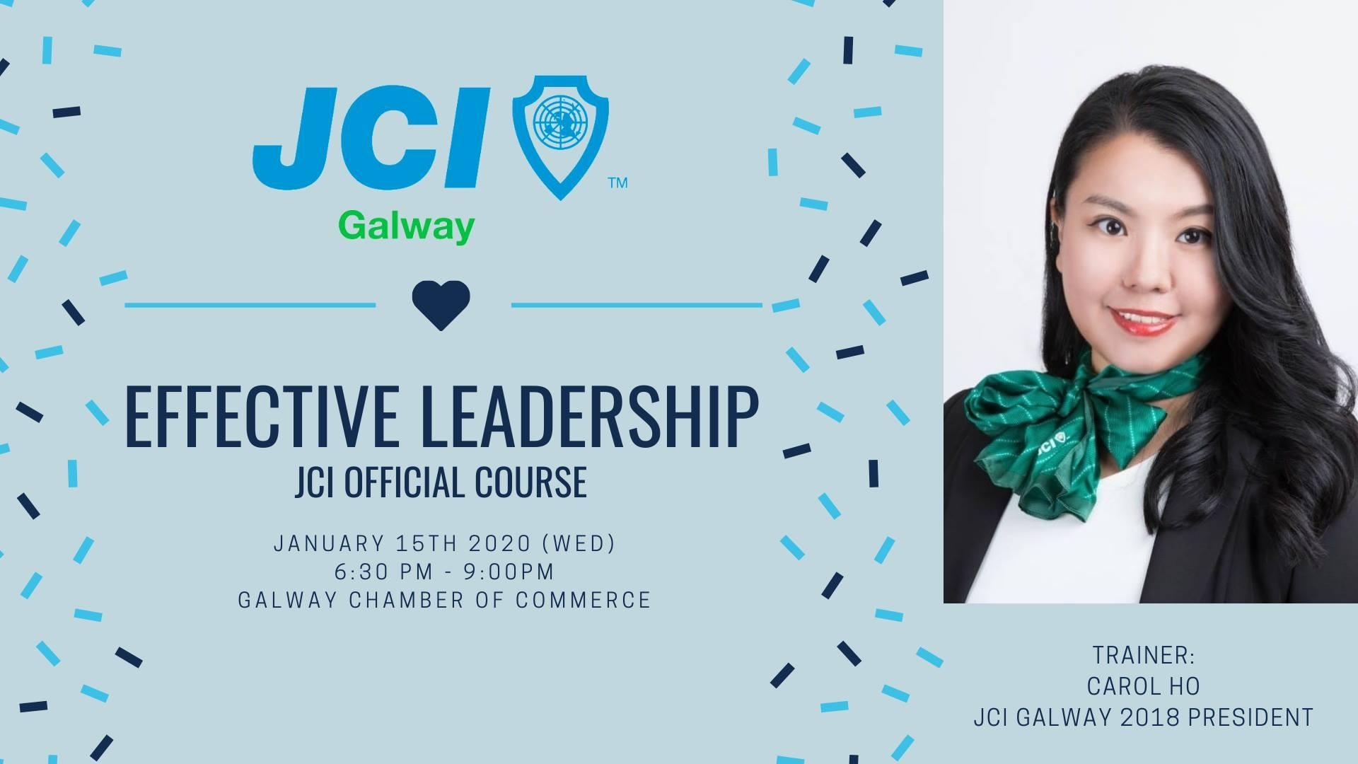 JCI Official Course - Effective Leadership