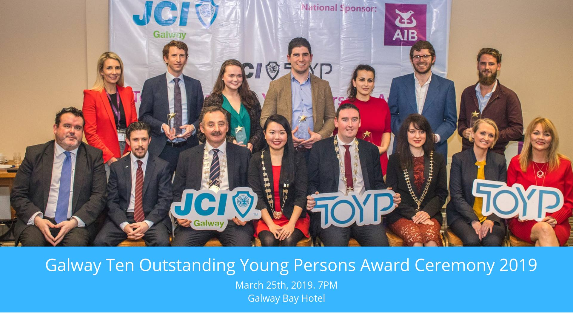 Galway Ten Outstanding Young Persons 2019
